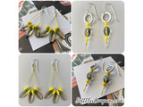 2021 Pantone Color of the Year Duo of Beading Wire - Ultimate Gray and Illuminating Yellow