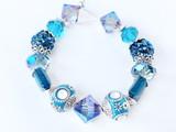 Resort Chic Bead Strand 1 (Blue)