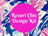 Resort Chic Design Kit