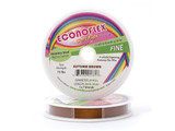 Econoflex Hobby Beading Wire .014 Fine 30ft Autumn Brown (Closeout)