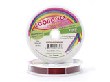 Econoflex Hobby Beading Wire .014 Fine 30ft Cinnamon Red (Closeout)