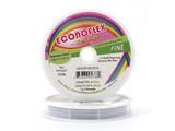 Econoflex Hobby Beading Wire .014 Fine 30ft Snow White (Closeout)