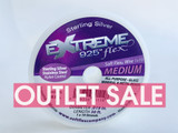 Soft Flex Extreme 30 ft, 925 Sterling Silver, .019 Medium Diameter (Outlet Sale)