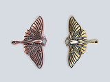 Luna Moth Pendant Link for Handcrafted Jewelry Making
