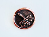 Dragonfly Button Clasp for Handcrafted Jewelry Making