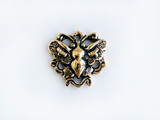 Antique Gold Plated Butterfly Link for Handcrafted Jewelry Making
