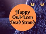 Happy Owl-Leen Bead Strand