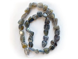 Varied Sizes Polished Labradorite Nuggets 50 Count Strand (Approx.)