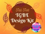 2021 Fall/Winter Pantone Design Kit for TGBE Fall Fest