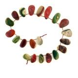20 Count Varied Size Multicolor Imperial Jasper Polished Slices (Sale)