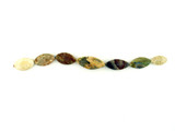 7 Count Graduated Multicolor Polished Thunder Egg Agate Ellipse (Sale)