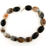 Varied Size Moss Agate Smooth Oval