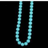 29 Count 14mm Light Blue Shell Pearls (Sale)