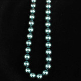 25 Count 16mm Dark Teal Shell Pearls (Sale)