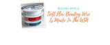 Soft Flex Beading Wire Is Made In The USA