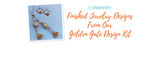 Finished Jewelry Designs From Our Golden Gate Design Kit