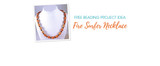 Free Beading Project Idea: Fire Surfer Necklace