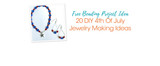 Free Beading Project Ideas: 20 DIY 4th Of July Jewelry Making Ideas