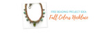 Free Beading Project Idea: Fall Colors Necklace