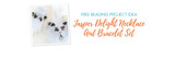 Free Beading Project Idea: Jasper Delight Necklace And Bracelet Set