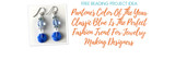 Pantone's Color Of The Year Classic Blue Is The Perfect Fashion Trend For Jewelry Making Designers