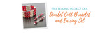 Free Beading Project Idea: Scarlet Cuff Bracelet and Earring Set