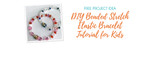 DIY Beaded Stretch Elastic Bracelet Tutorial for Kids