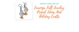 Weekly Video Recap: Earrings, Fall Jewelry Project Ideas, And Holiday Crafts