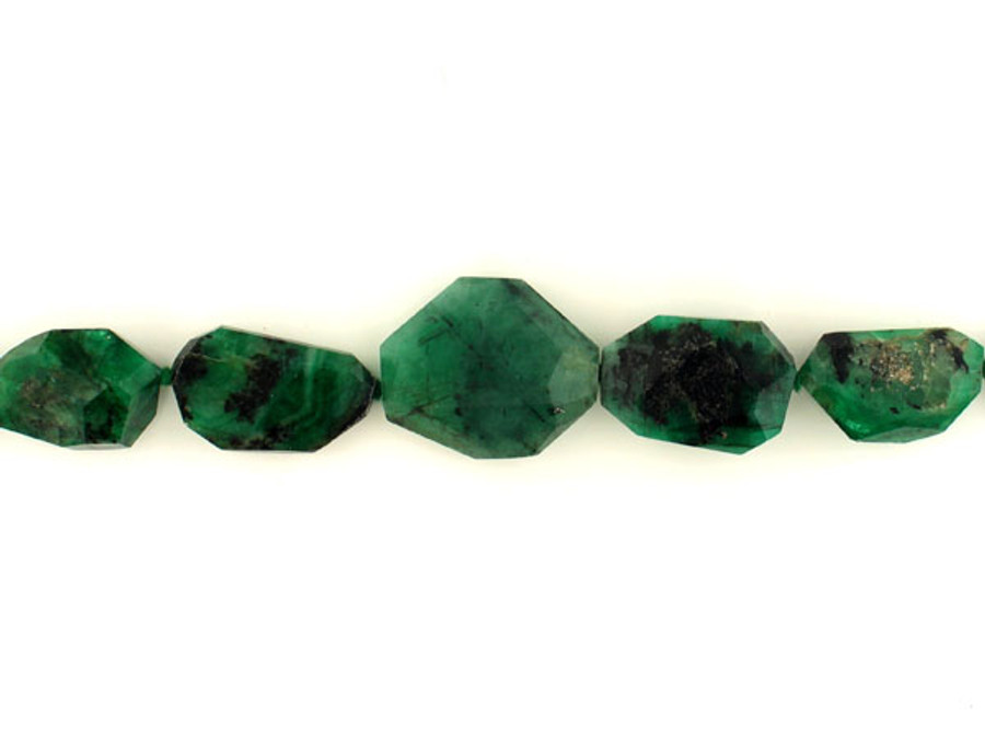 17 Count Emerald Simple Cut Nuggets '1 Of A Kind' (Sale)