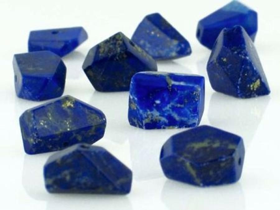 54 Count Lapis Simple Cut Gemstones (Sale)