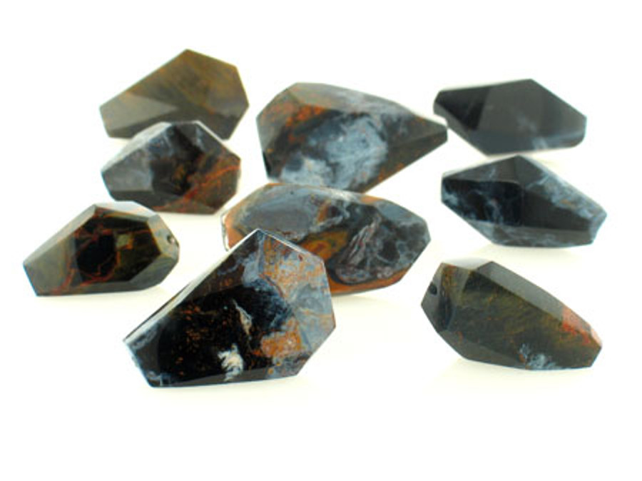 14 Count Namibian Pietersite Simple Cut Nuggets (Closeout)