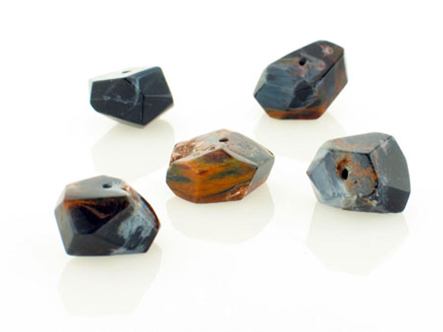 5 Count Namibian Pietersite Simple Cut Nuggets (Sale)