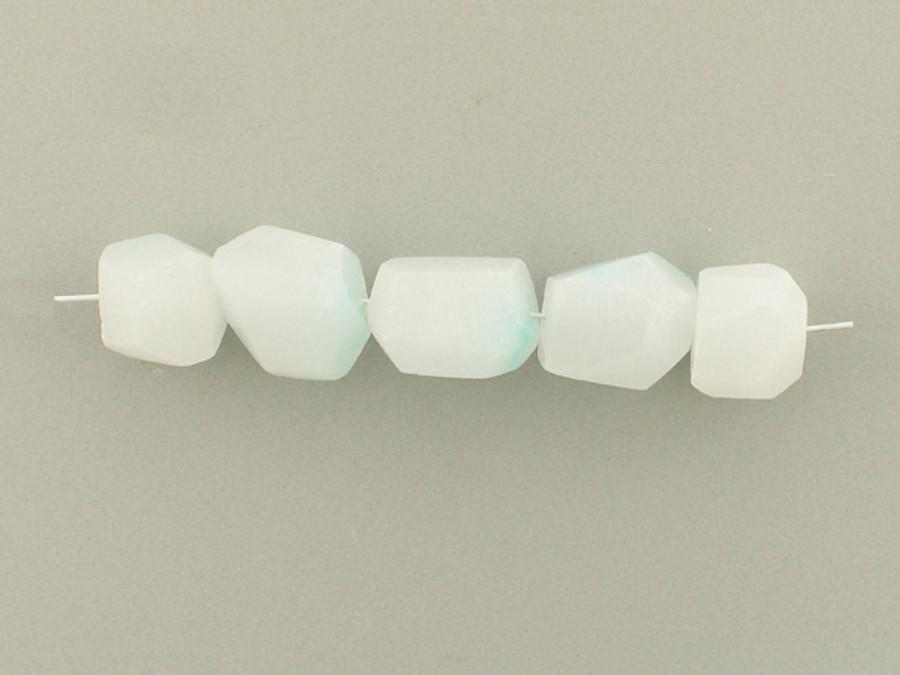 5 Count Varied Sizes Light Blue Hemimorphite Simple Cut Nuggets (Sale)