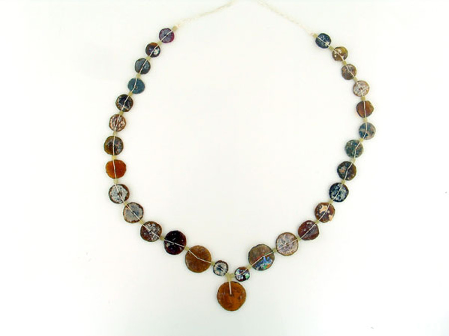 60 Count Brown Recycled Glass & Serpentine Set (Sale)