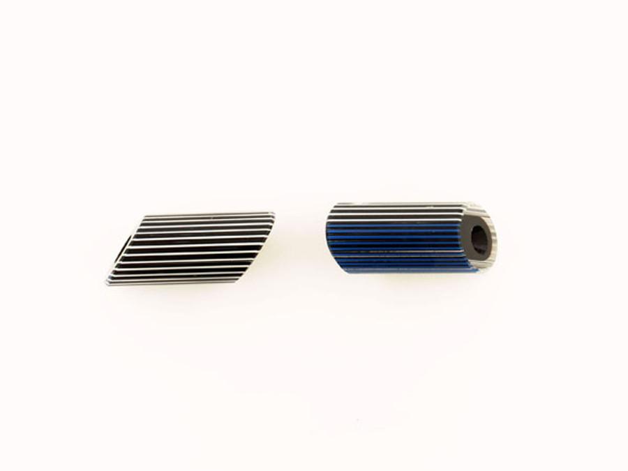 1 Count 17x42mm Luigi Cattelan's Blue-White Italian Glass Focal Bead (Sale)