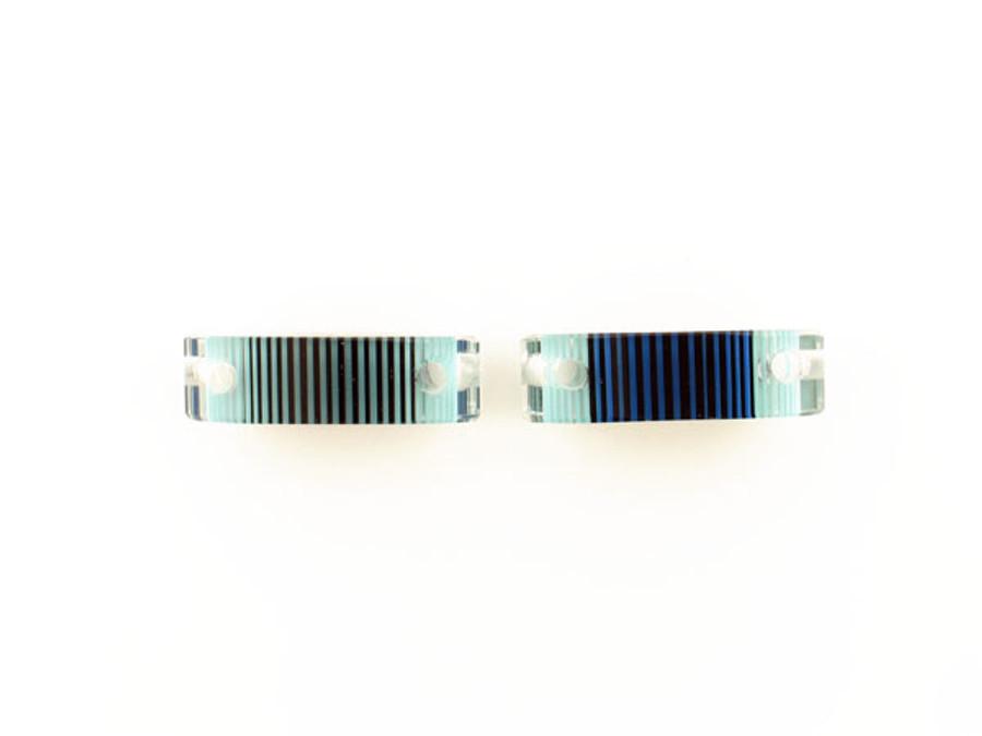 Luigi Cattelan's Blue Italian Glass Focal Bead