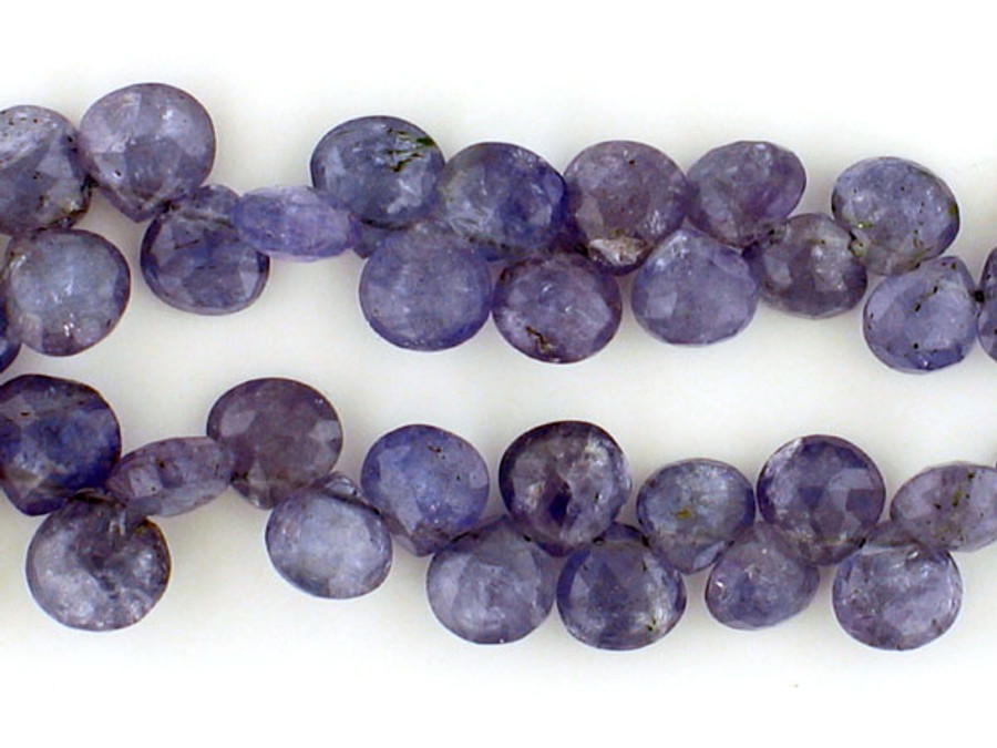 60 Count Graduated Tanzanite Faceted Pears  'One Of A Kind' (Sale)