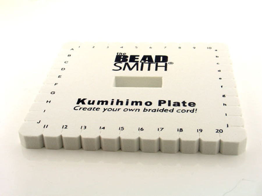 6 In Square Kumihimo Plate