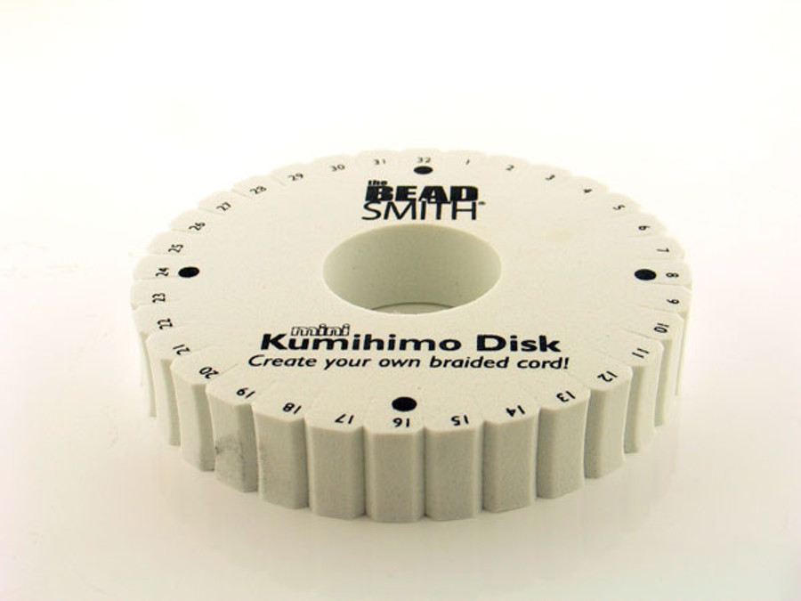 Double Density 4.25 In Round Kumihimo Disk