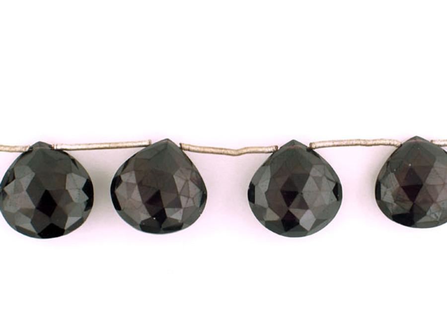 8 Count 16-19mm Plum Cz Faceted Pear (Sale)