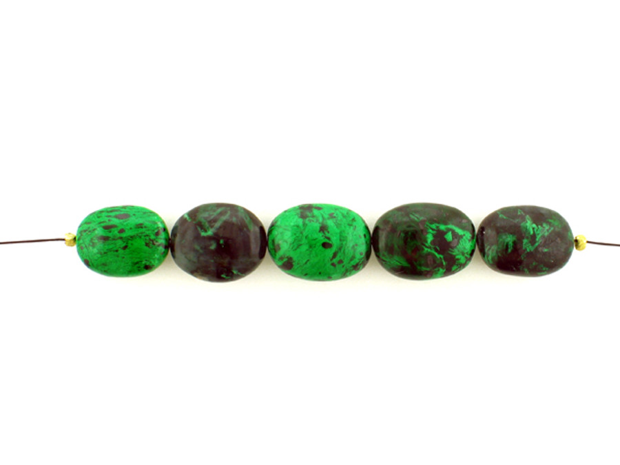 5 Count Varied Sizes Green And Black Maw Sit Sit Smooth Nuggets (Sale)