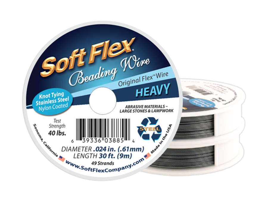 Soft Flex Beading Wire - Heavy Diameter
