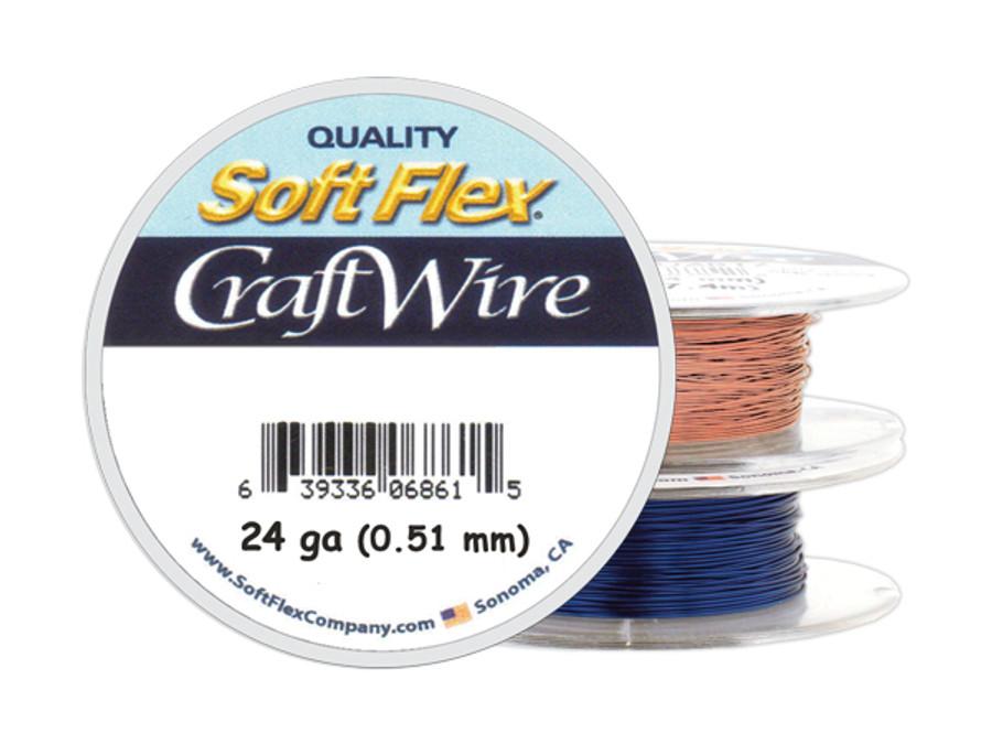 Soft Flex Craft Wire - 24ga/.511mm - 60 ft/20 yd/18 m