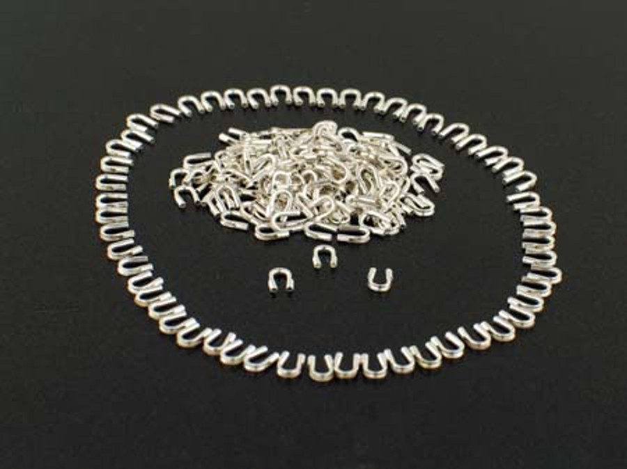 Silver Filled Wire Protectors .010 and .014 Diameter - 250 Count