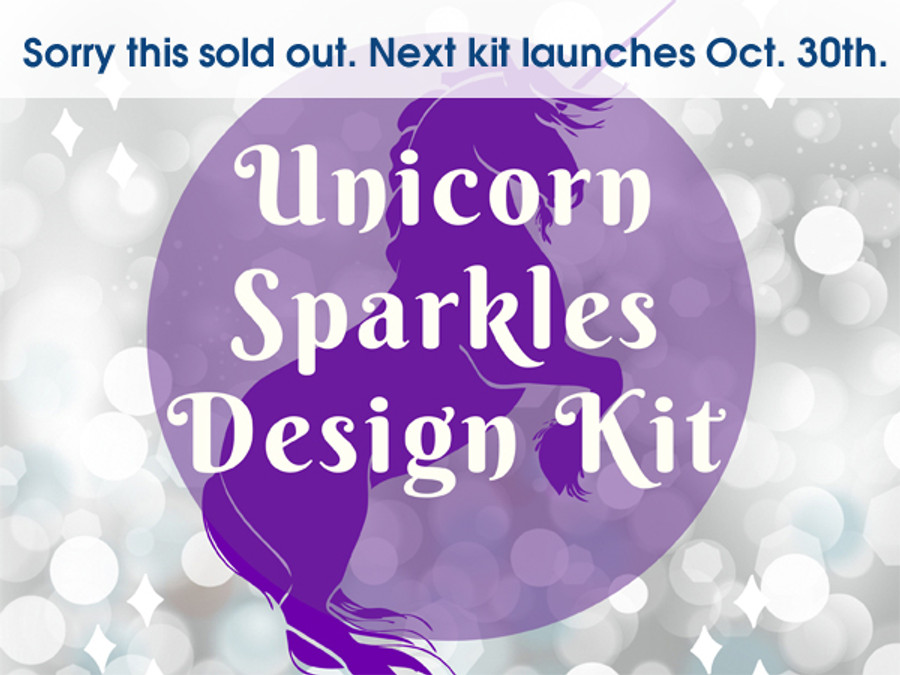 Unicorn Sparkles Design Kit