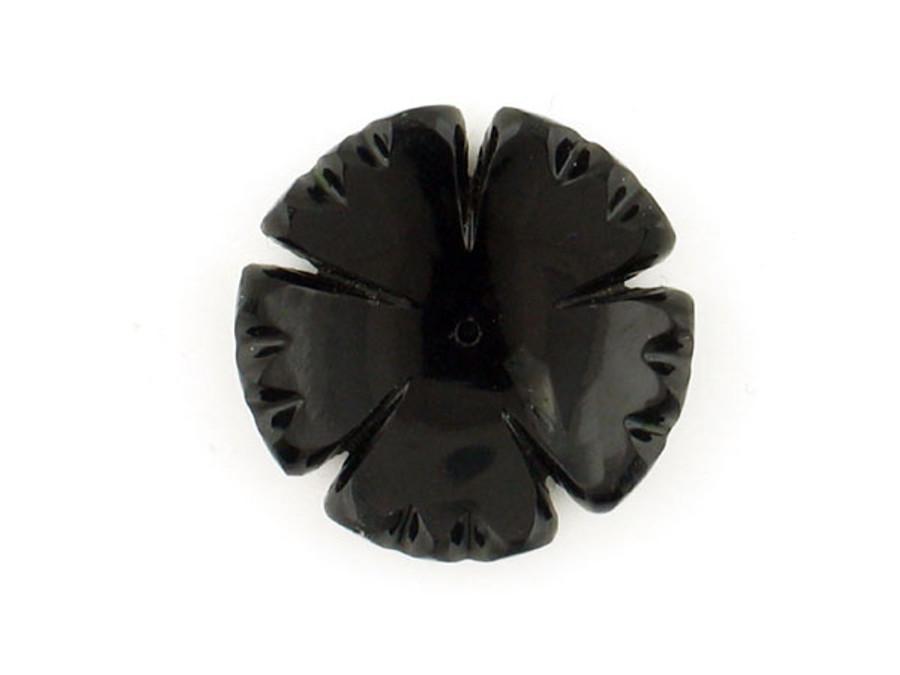 Polished Onyx Carved Flower
