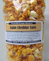 Spicy Cajun cheddar cheese popcorn