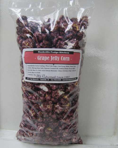 Grape Jelly Popcorn