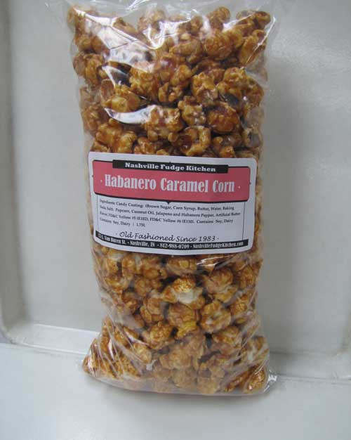 Habanero Caramel Popcorn