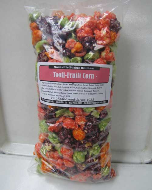 Tooti-Fruiti  Popcorn